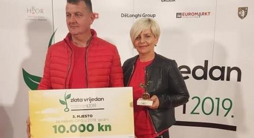 """Pleternički OPG, obitelji Čondić, dobitnik nagrade """"Zlata vrijedan"""""""