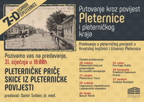 Putovanje kroz povijest Pleternice i pleterničkog kraja