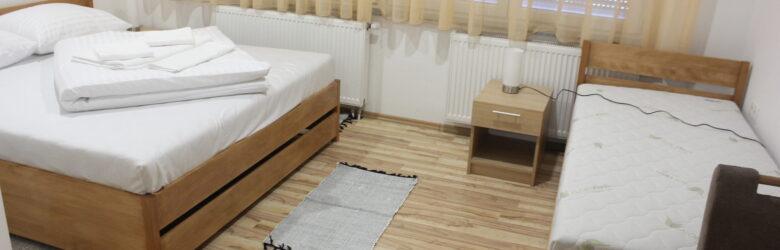 Sobe Marta, nove sobe u centru Grada Pleternice