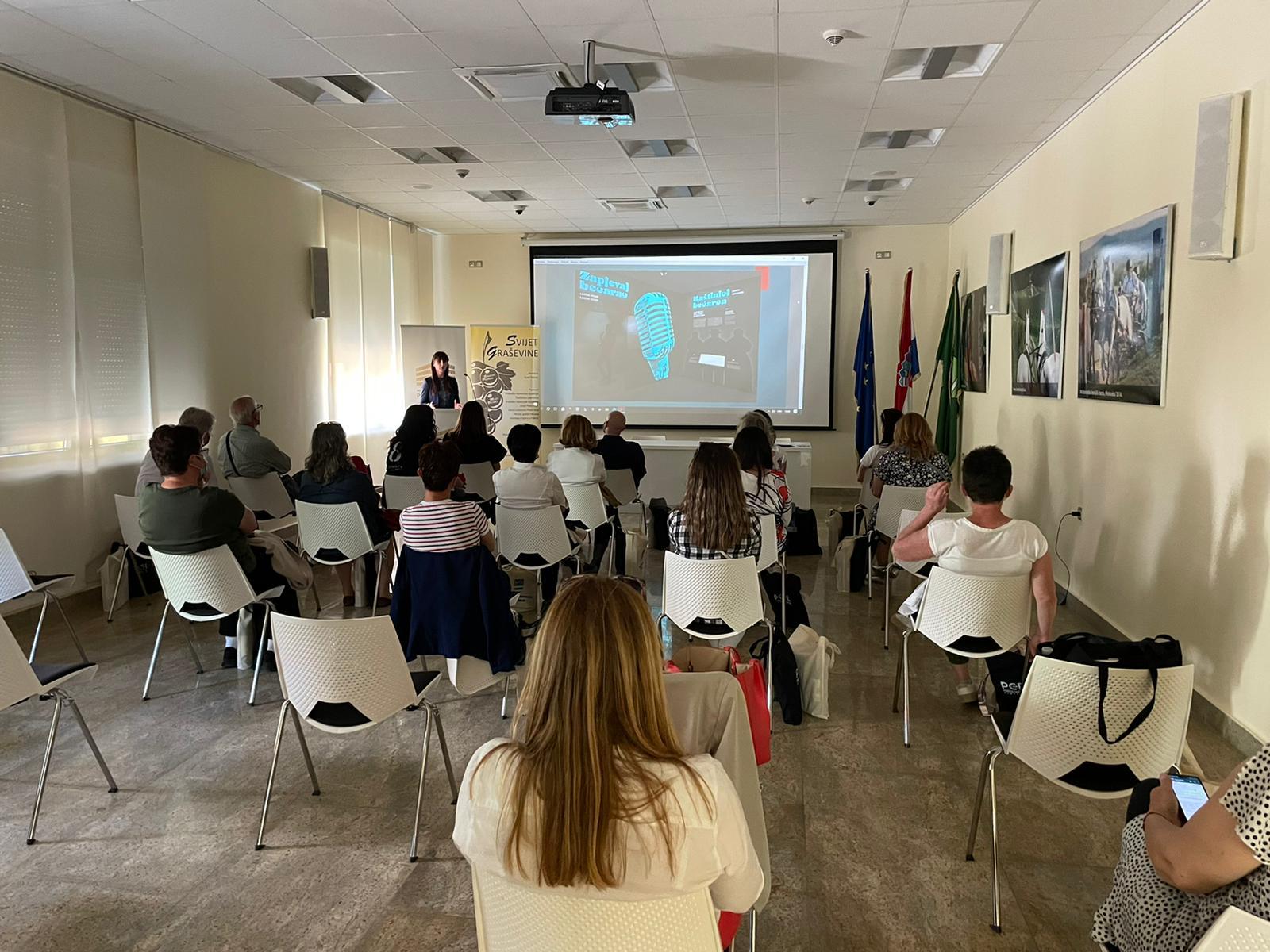 Projekt – Svijet graševine  –  Radionica za turističke agente