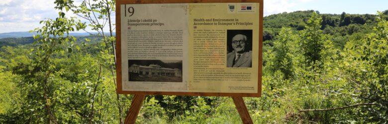 Poučna staza dr. Andrije Štampara
